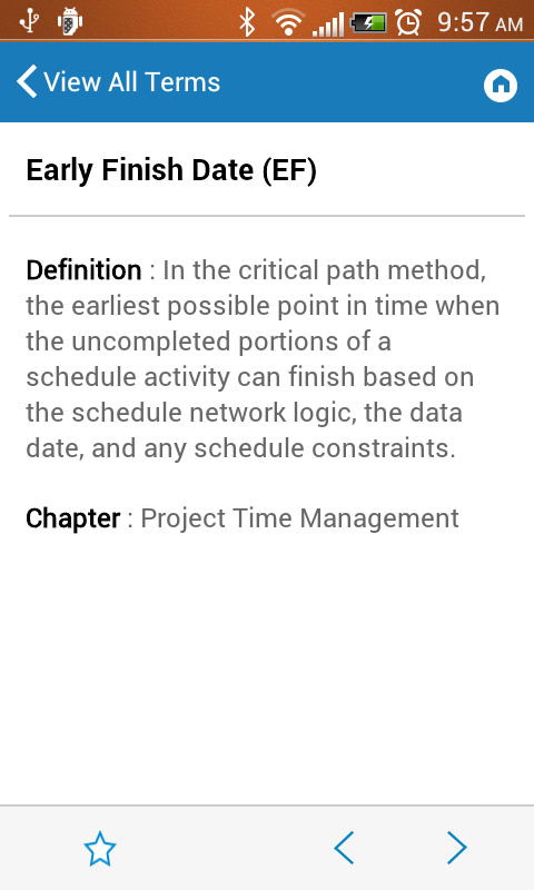 PMstudy's PMP®/CAPM® Terms- screenshot