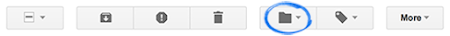 Gmail Move to icon