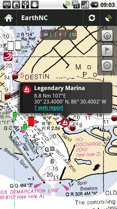 Marine Charts HD - screenshot