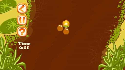 连蹦带跳的青蛙