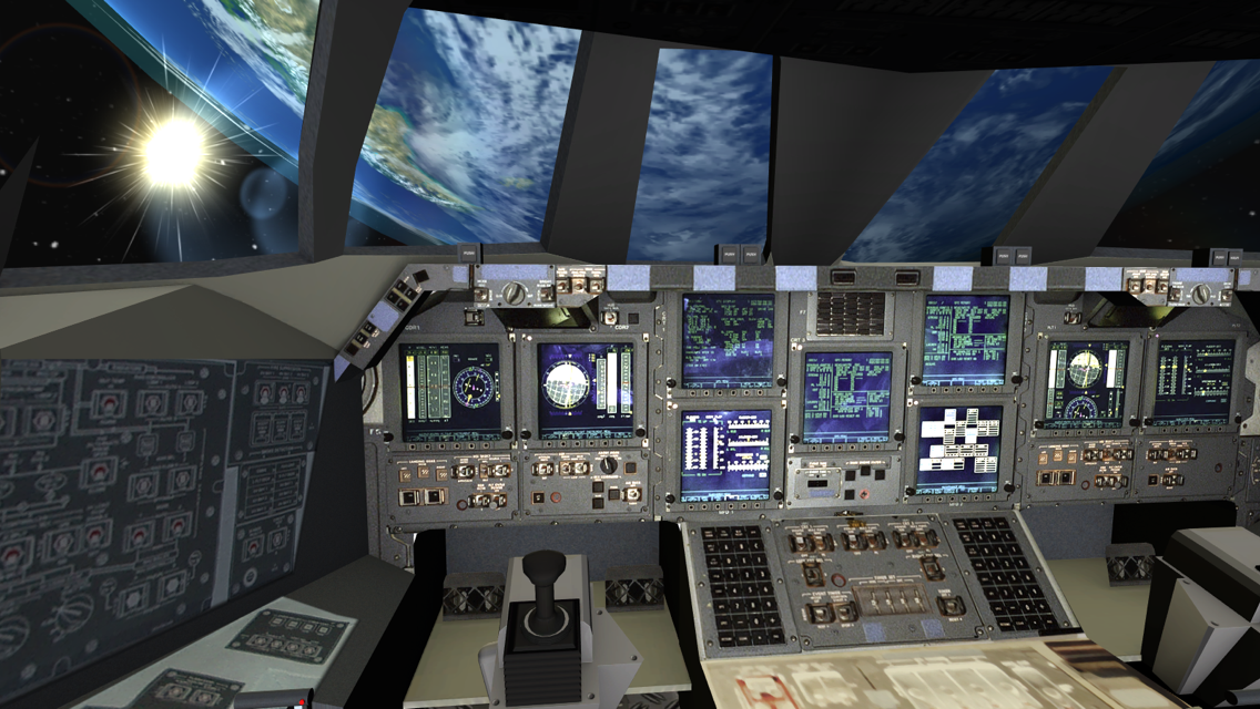 space shuttle simulator app - photo #6