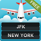 FLIGHTS JFK Airport New York icon