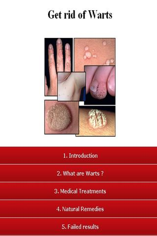 Get Rid Of Warts - screenshot