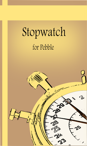Stopwatch for Pebble