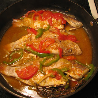 Jamaican Steamed Fish.