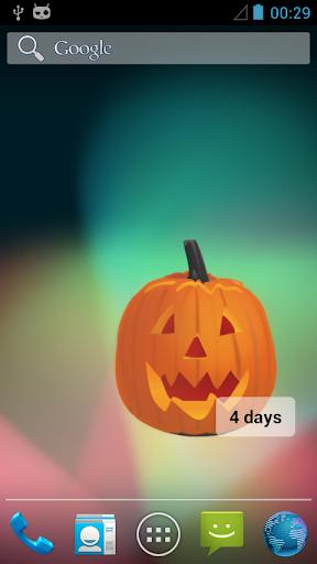 Halloween Widgets Countdown