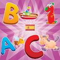Spanish Alphabet Game for Kid icon