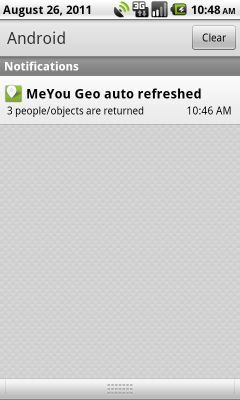 MeYou Geo BETA - screenshot