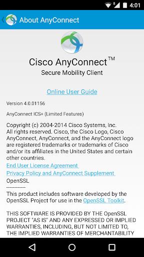 AnyConnect 4.6.02078 screenshots 4