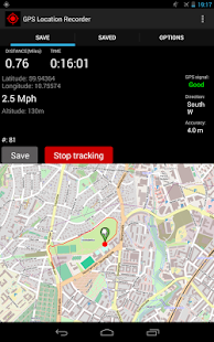 GPS Location Recorder - screenshot thumbnail
