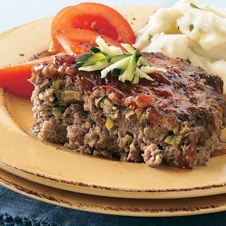 Zucchini Meat Loaf