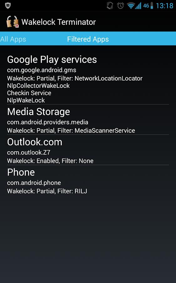 Wakelock Terminator ★ root - screenshot