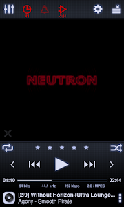 Neutron Music Player (Eval) screenshot 0