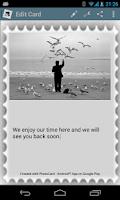 Screenshot of PhotoCard