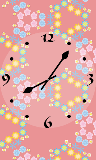KaleidoscopeClock -Flower-