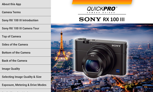 Sony RX100 Mk III by QuickPro