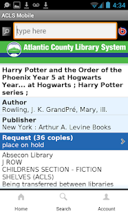 Atlantic County Library System- screenshot thumbnail
