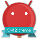 CM12 Red Pop Theme APK Cracked Download