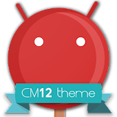 CM12 Red Pop Theme