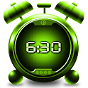Digital clock & alarm logo