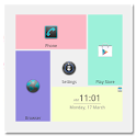 Pastel theme for SquareHome