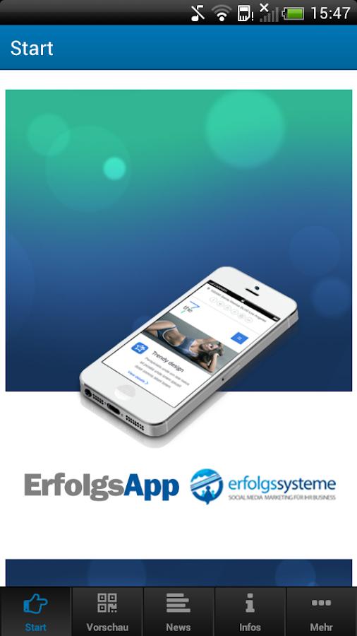 ErfolgsApp- screenshot