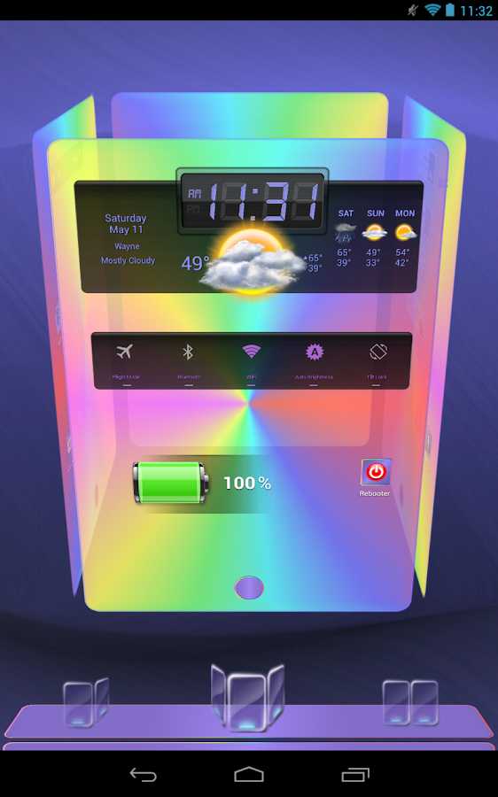 Next Launcher 3D Pastels- screenshot