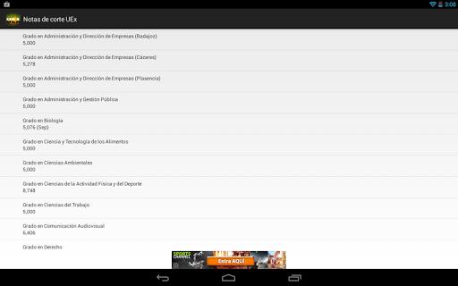 免費下載教育APP|Notas de corte UEx app開箱文|APP開箱王