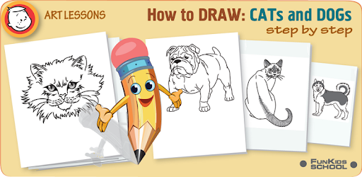 Lets Draw Cats And Dogs Apps On Google Play