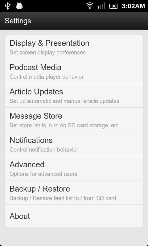 RssDemon News & Podcast Reader - screenshot