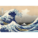 Ukiyo-e WallPaper: Wave (Demo) icon