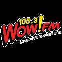 Wow-FM 105.3 logo