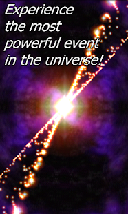 Gamma Ray Burst Live wallpaper - Premium version- screenshot thumbnail