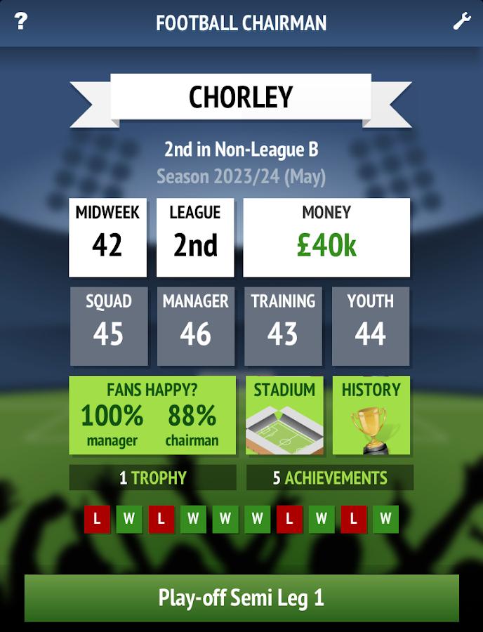 Football Chairman v1.0.6 APK Full indir