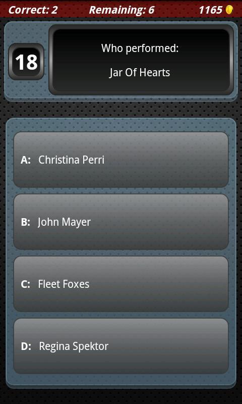 Song Match: 2011- screenshot