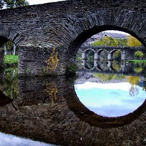 looking bridges by José Sobral - Buildings & Architecture Bridges & Suspended Structures ( romana, pontes, antiqua, bridges, river, bridge )