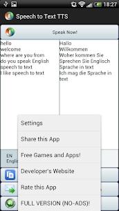 Speech to Text Translator TTS v3.1.4 [Mod] APK 4