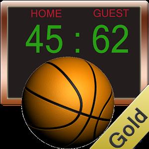 Basketball Score Gold