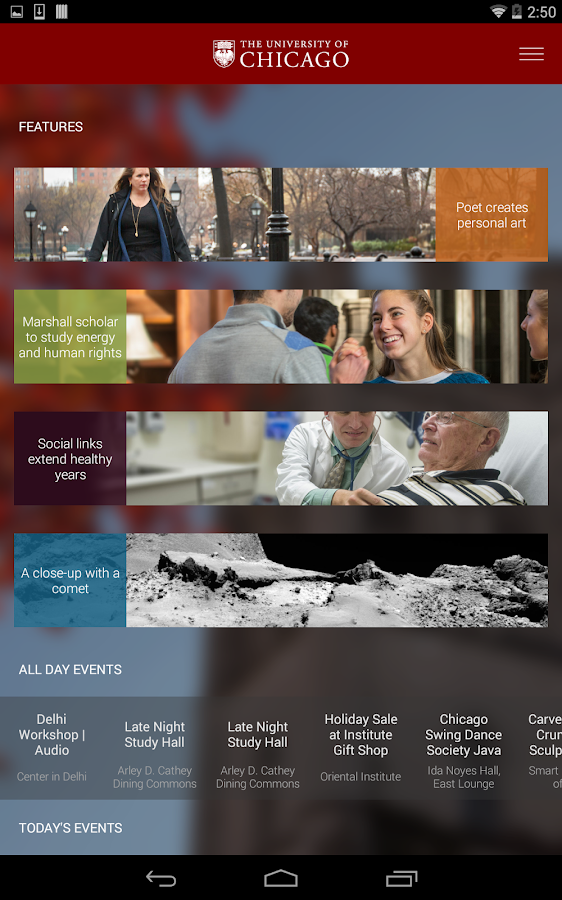 UChicago- screenshot