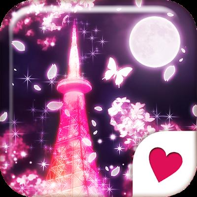 Cute wallpaper★Sakura Tower