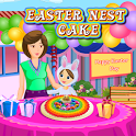 Easter Nest Cake Cooking icon