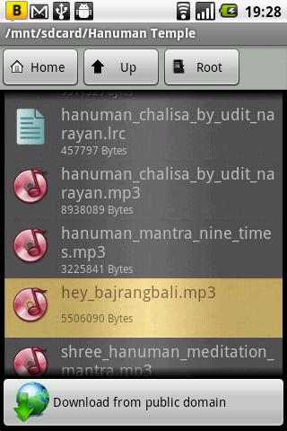 Hanuman Chalisa & Aarti Audio - screenshot