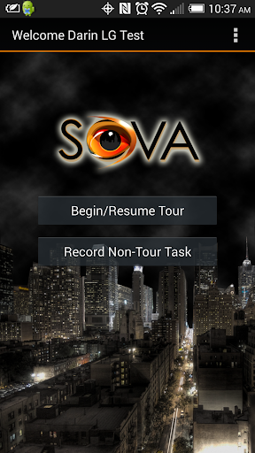 SOVA Guard Tracker