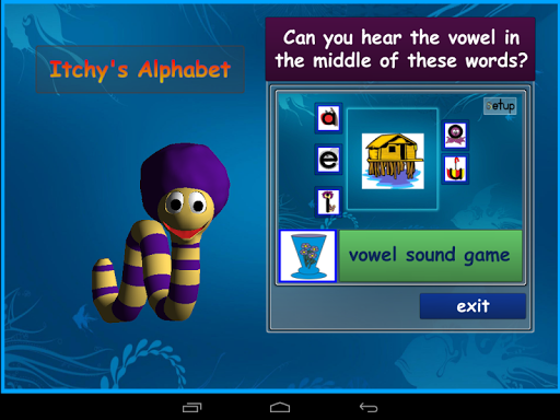Itchy's Alphabet Vowel Sounds