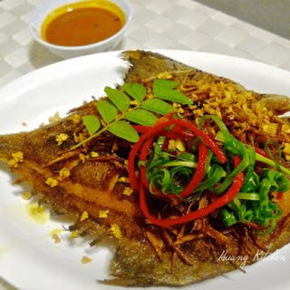 Crispy Fried Fish Asian Style
