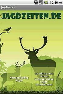 Jagdzeiten.de App- screenshot thumbnail