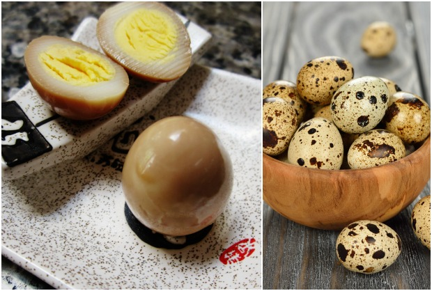 Toasted Sesame Asian Pickled Quail Eggs Recipe