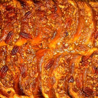 Gooey Pecan French Toast Casserole.