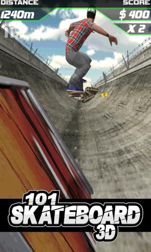 101 Skateboard Racing 3D 1.6 screenshots 1