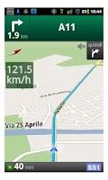Screenshot of Speedometer for navigator free